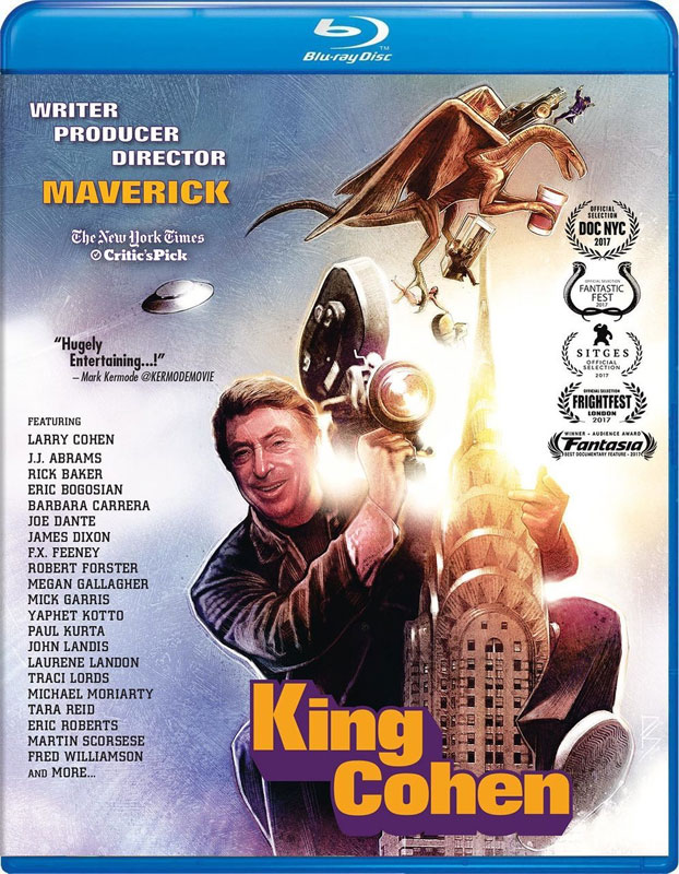 King Cohen 2018 Blu-Ray Larry Cohen Documentary plus Soundtrack CD LIMITED EDITION