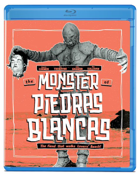 Monster Of Piedras Blancas 1959 Blu-Ray