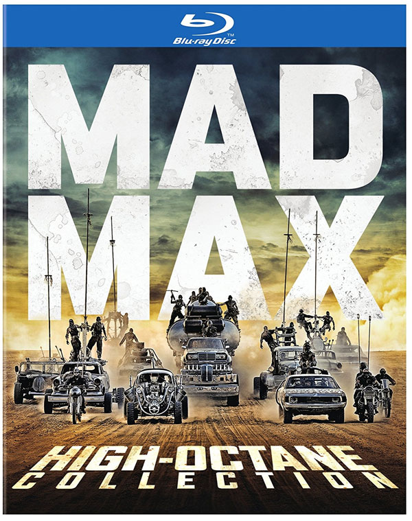 Mad Max Fury Road High Octane 4 Film Collection Blu-Ray