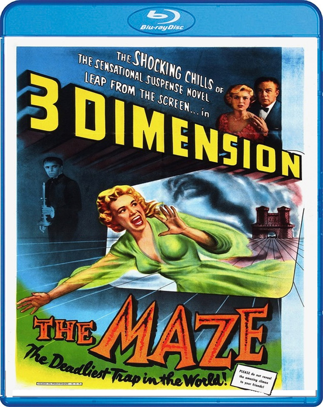 Maze, The 1953 3D Blu-Ray