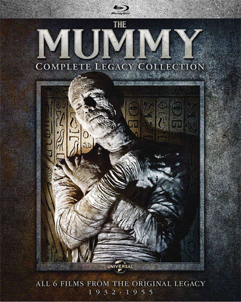 Mummy The Complete Legacy Collection Blu-Ray