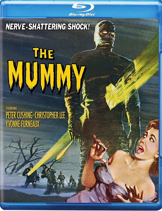Mummy, The 1959 Blu-Ray Hammer Film Christopher Lee
