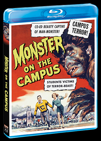 Monster On Campus 1958 Blu-Ray