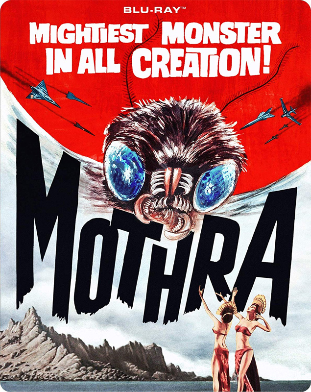 Mothra 1961 Blu-Ray Steelbook Edition - Click Image to Close