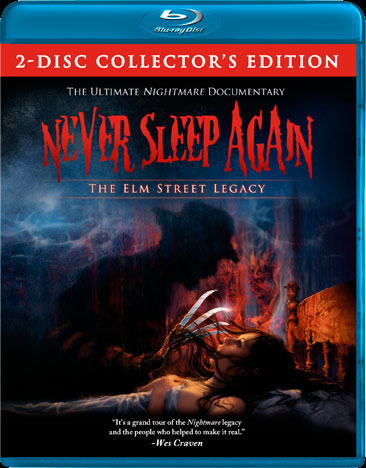 Nightmare On Elm Street Never Sleep Again Making of Blu-Ray