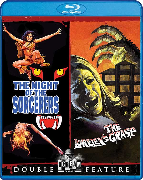 Night Of The Sorcerers / The Loreley's Grasp Blu-Ray