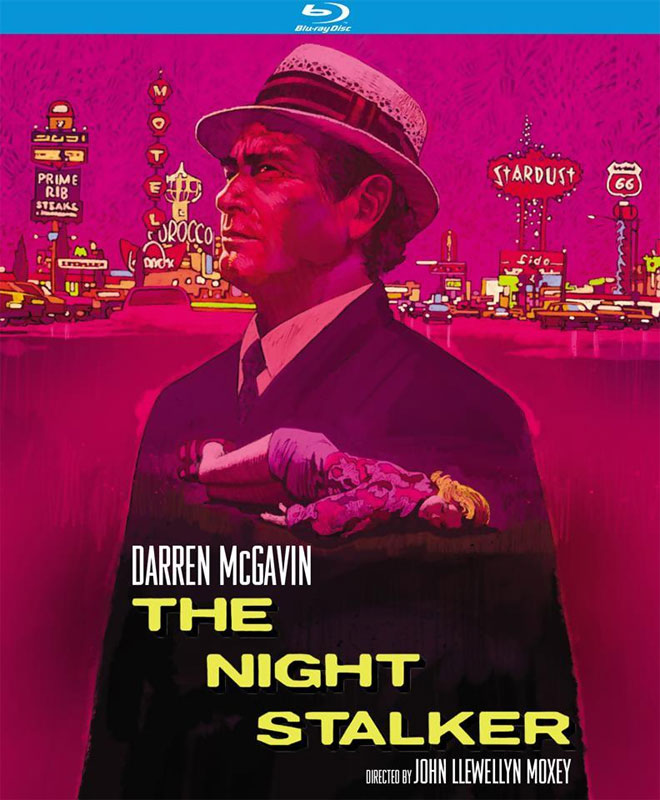 Night Stalker 1972 4K Restoration Blu-Ray Carl Kolchak