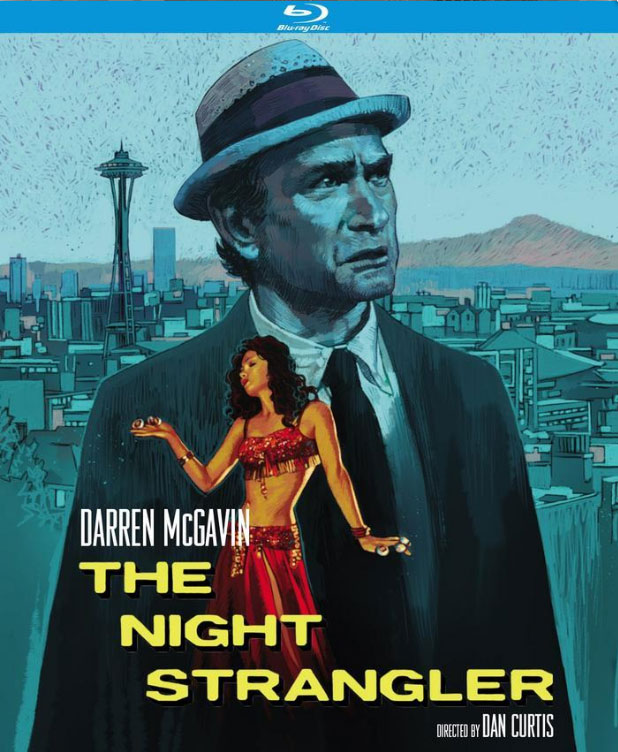 Night Strangler 1973 4K Restoration Blu-Ray Carl Kolchak