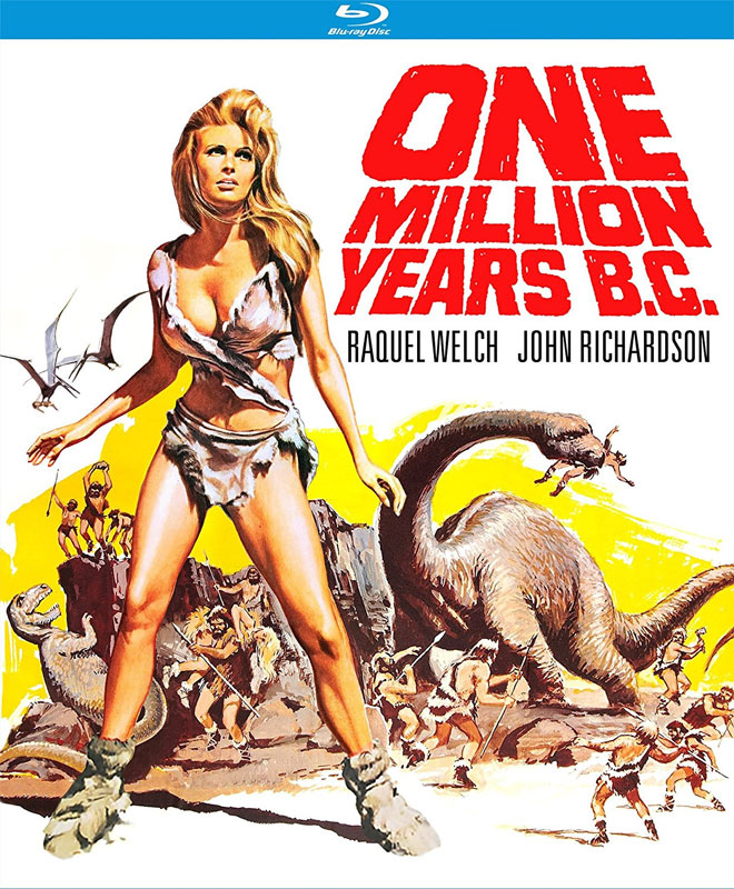 One Million Years B.C. 1966 4K Remastered Blu-ray
