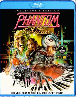 Phantom of the Paradise Collector's Edition (1974) Blu-Ray