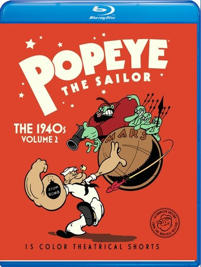 Popeye The Sailor The 1940s Volume 2 Blu-Ray