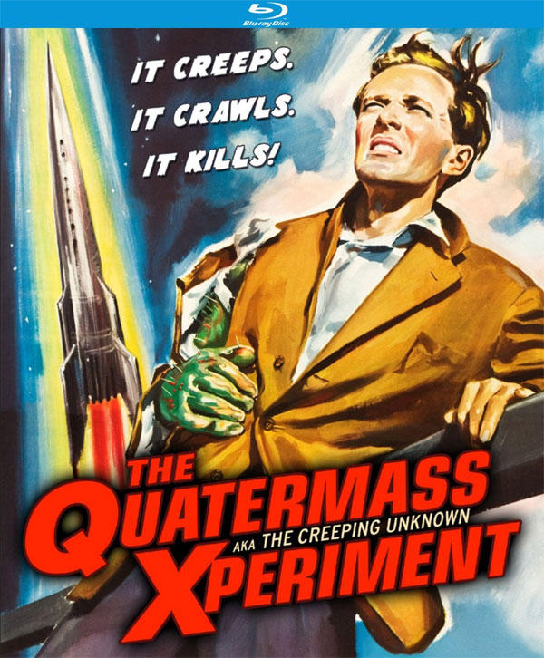 Quatermass Xperiment 1955 (A.K.A. The Creeping Unknown) Blu-Ray
