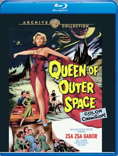 Queen Of Outer Space 1958 Blu-Ray Warner Archives