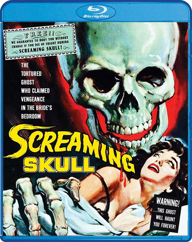 Screaming Skull 1958 Blu-Ray