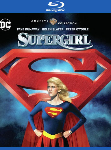 Supergirl 1984 Extended International Cut Blu-Ray + Director's Cut DVD