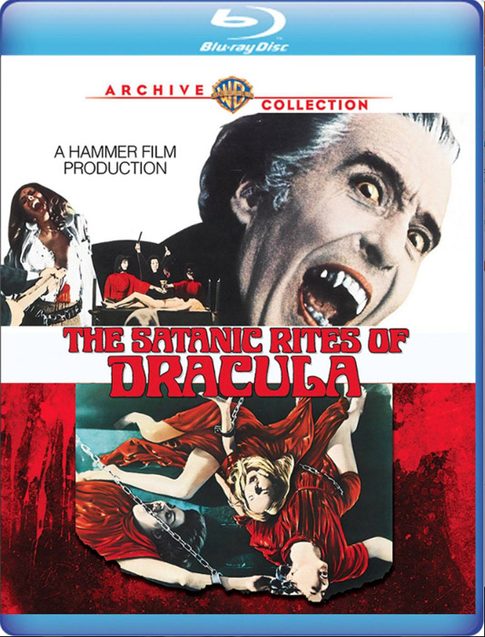 Satanic Rites of Dracula 1973 Blu-Ray Christopher Lee