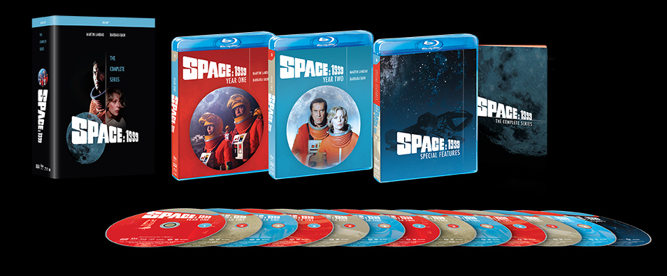 Space 1999: The Complete Series Blu-Ray with Extras