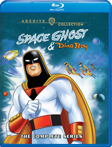 Space Ghost & Dino Boy: The Complete Series Blu-Ray 2 Disc Set