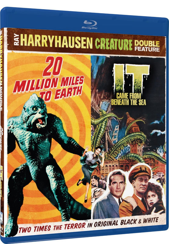 20 Million Miles To Earth / It Came From Beneath The Sea Blu-Ray Harryhausen Double Feature