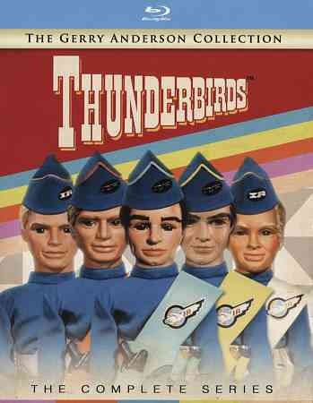 Thunderbirds The Complete Series Blu-Ray Gerry Anderson Collection