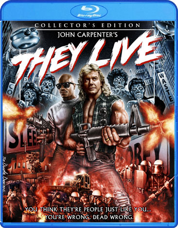 They Live Collector's Edition Blu-Ray