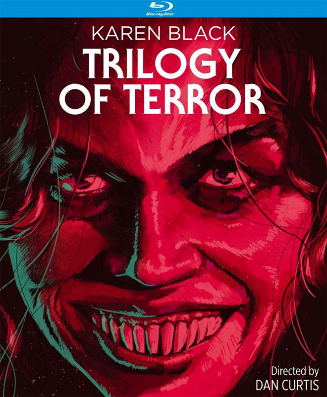 Trilogy Of Terror 1975 4K Restoration Blu-Ray Karen Black