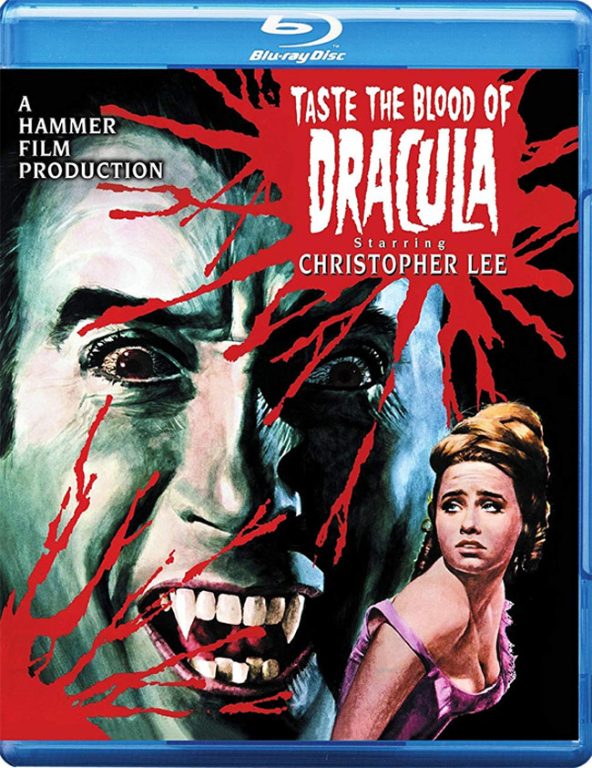 Taste The Blood Of Dracula 1970 Blu-Ray Christopher Lee
