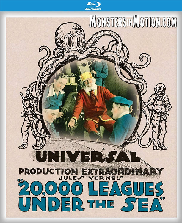 20,000 Leagues Under the Sea 1916 Blu-ray