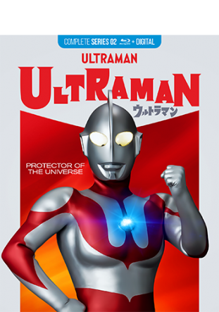 Ultraman Complete Series Blu-Ray + Digital