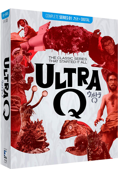 Ultra Q The Complete Series Blu-Ray + Digital