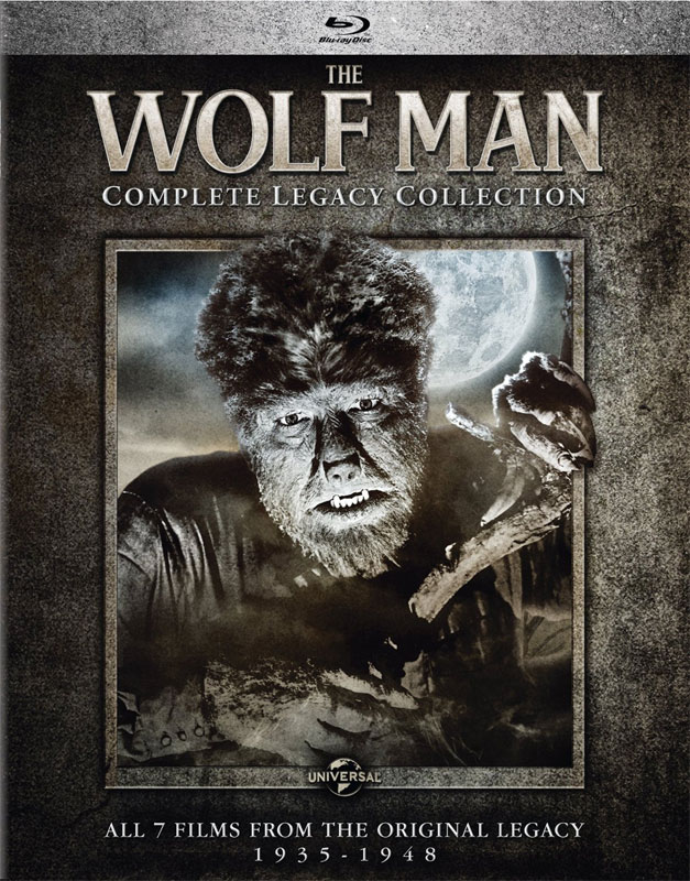 Wolf Man Complete Legacy 7 Film Collection Blu-ray