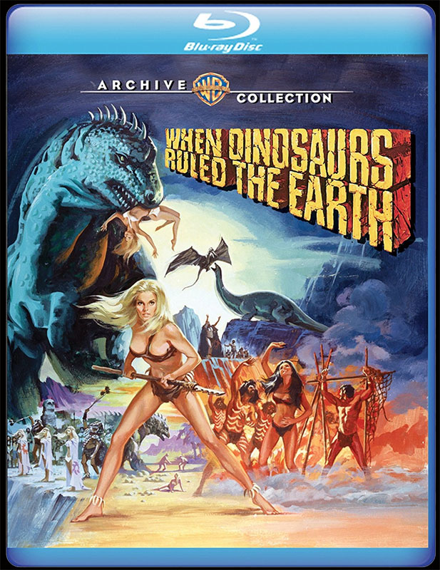 When Dinosaurs Ruled The Earth 1970 Blu-Ray