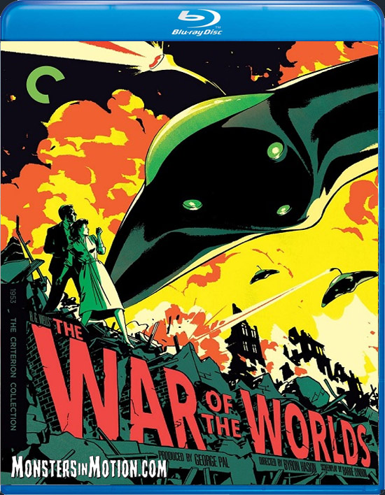 War of the Worlds 1953 Criterion Collection 4K Blu-Ray