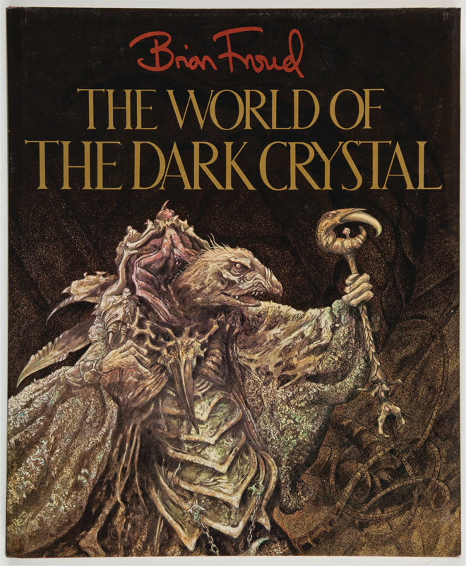 World of The Dark Crystal Hardcover Book