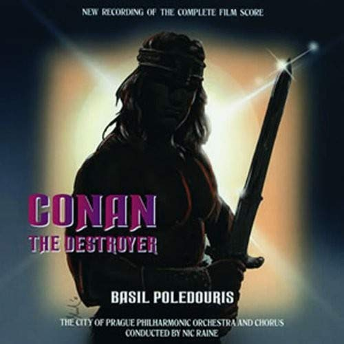 Conan the Destroyer Soundtrack/Score (2CD) Basil Poledouris