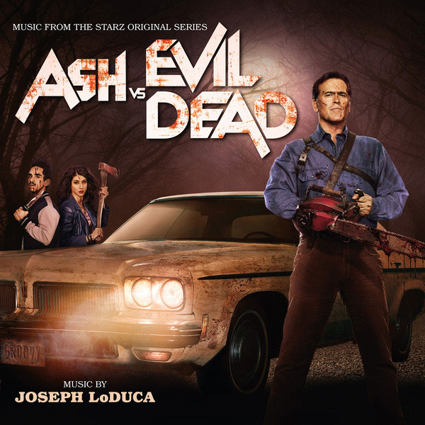 Ash Vs. Evil Dead Soundtrack CD Joseph LoDuca