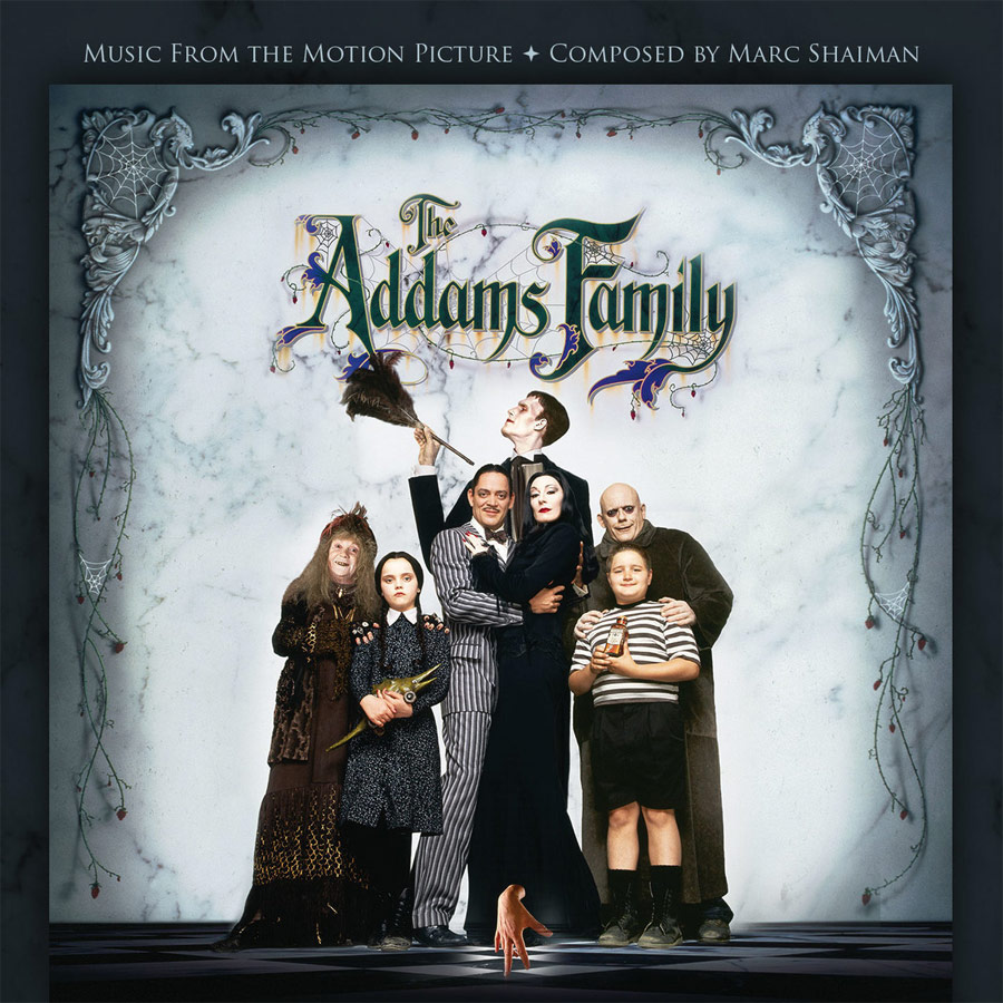 Addams Family 1991 Soundtrack CD Marc Shaiman LIMITED EDITION
