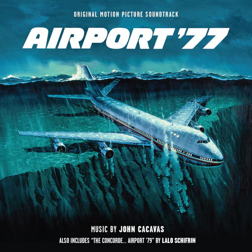 Airport 77 / 79 Soundtrack 2 CD Set Lalo Schifrin John Cacavas