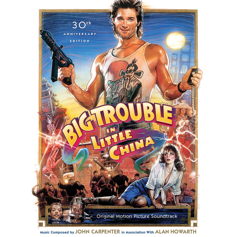 Big Trouble in Little China 30th Anniversary Soundtrack CD Limited Edition 2 CD Set John Carpenter and Alan Howarth