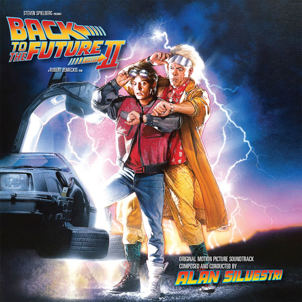 Back to the Future 2 Soundtrack CD Alan Silvestri 2CD Set