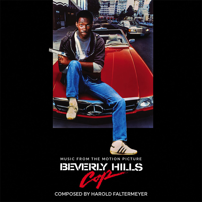 Beverly Hills Cop Soundtrack CD Harold Faltermeyer