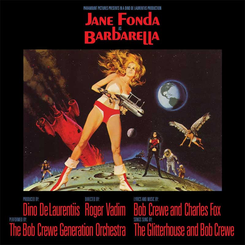 Barbarella 1968 Soundtrack CD Charles Fox
