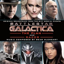 Battlestar Galactica 2003 The Plan / Razor Soundtrack CD Bear McCreary