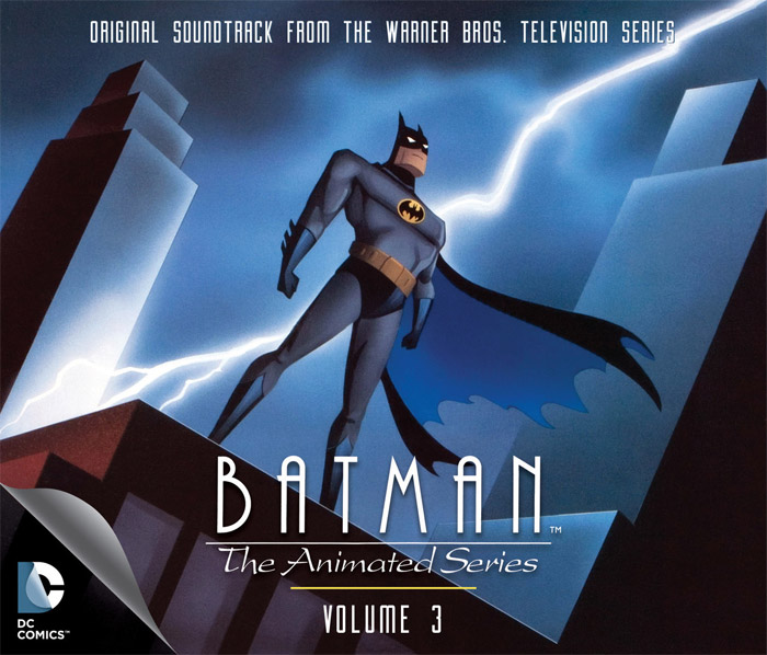 Batman The Animated Series Vol. 3 Soundtrack CD LIMITED EDITION