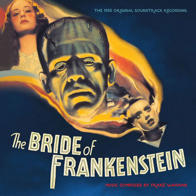 Bride Of Frankenstein Limited Edition CD Soundtrack