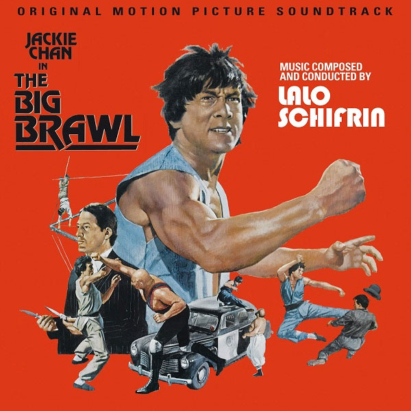 Big Brawl Jackie Chan Soundtrack CD Lalo Schifrin LIMITED EDITION of 1000