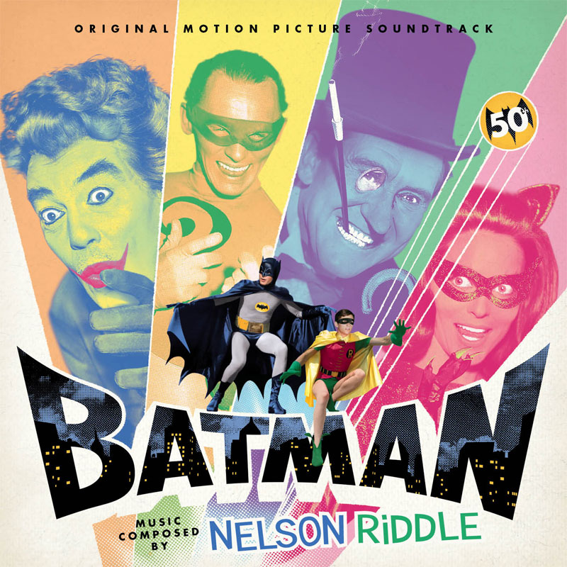 Batman The Movie 1966 Soundtrack CD Nelson Riddle