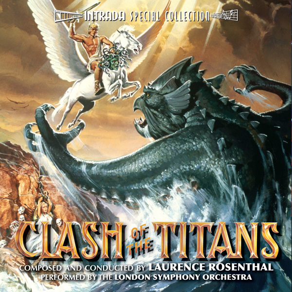 Clash of the Titans Soundtrack CD Laurence Rosenthal