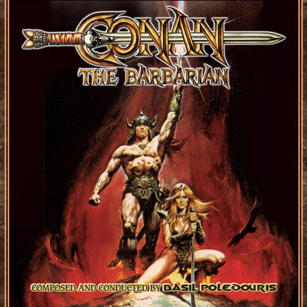 Conan The Barbarian 1982 Complete 3CD Set Basil Poledouris