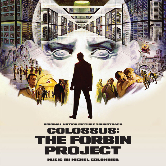 Colossus The Forbin Project Soundtrack CD Michael Colombier
